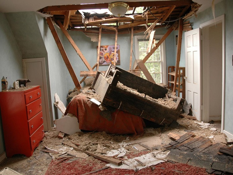 Your House's Interior or Exterior Has Been Damaged